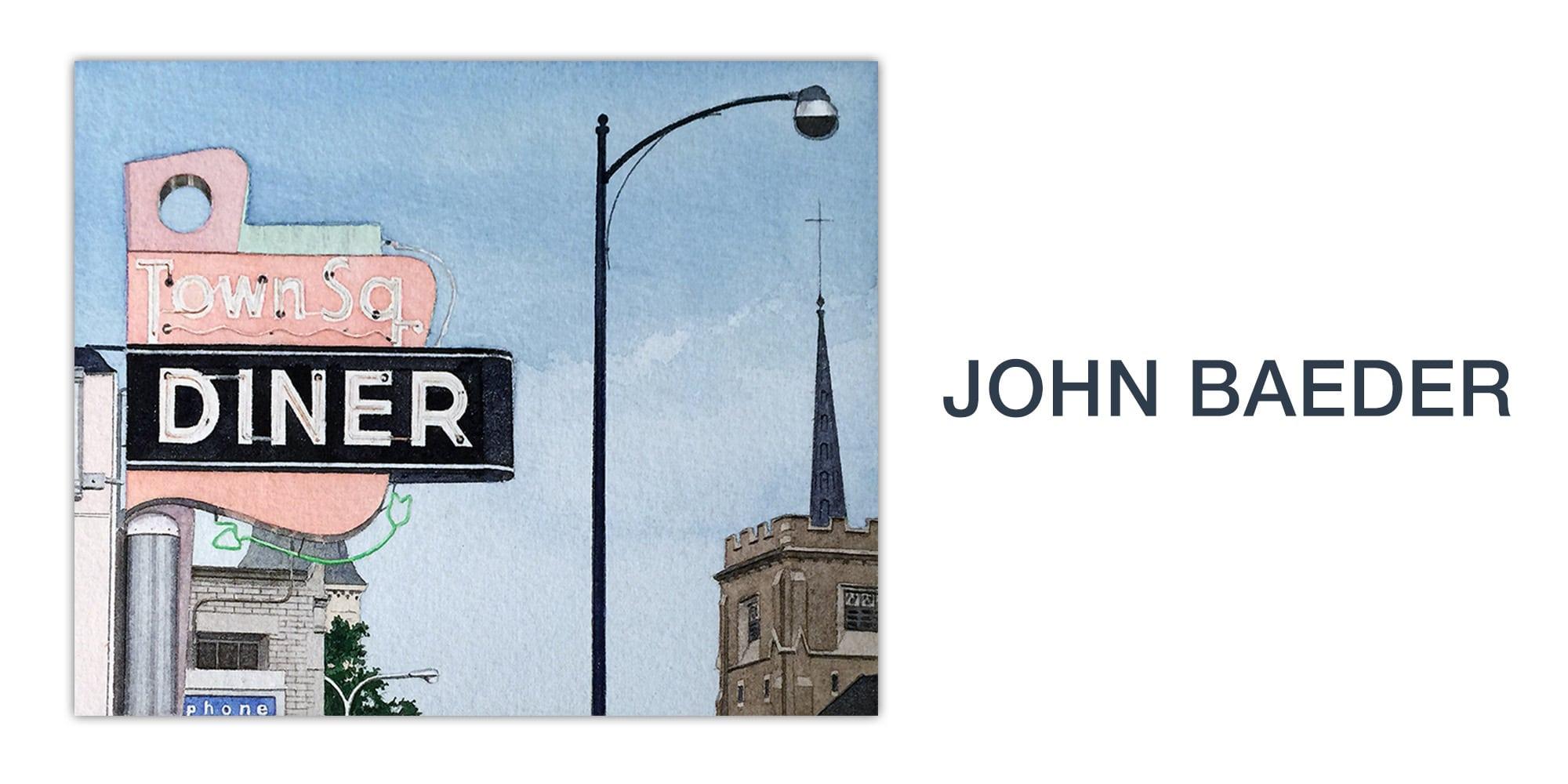 Art Miami 2018 Jonathan Novak John Baeder