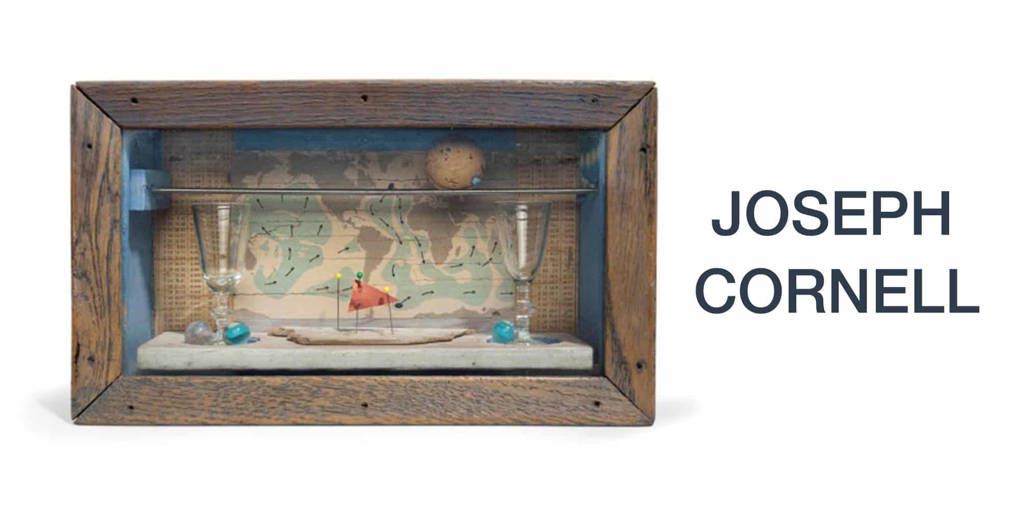 Art Miami 2018 Jonathan Novak Joseph Cornell