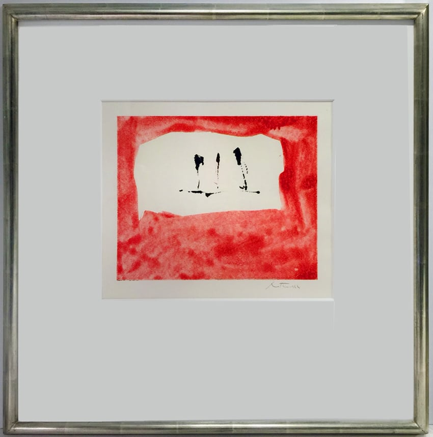 Robert Motherwell Untitled (Phoenician Red) (M76-2823)