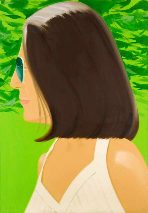 Cheerful portrait of Ava by Alex Katz