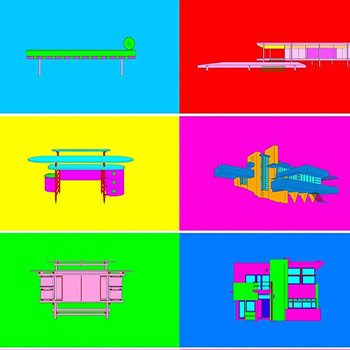 Michael Craig-Martin Thumbnail of Design Architecture