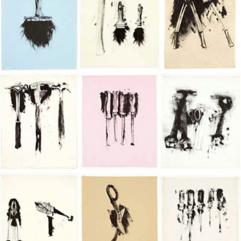 Thumbnail of Jim Dine tools portfolio