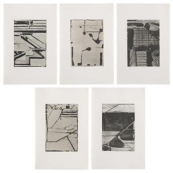 Richard Diebenkorn Thumbnail of Black and White Prints Portfolio
