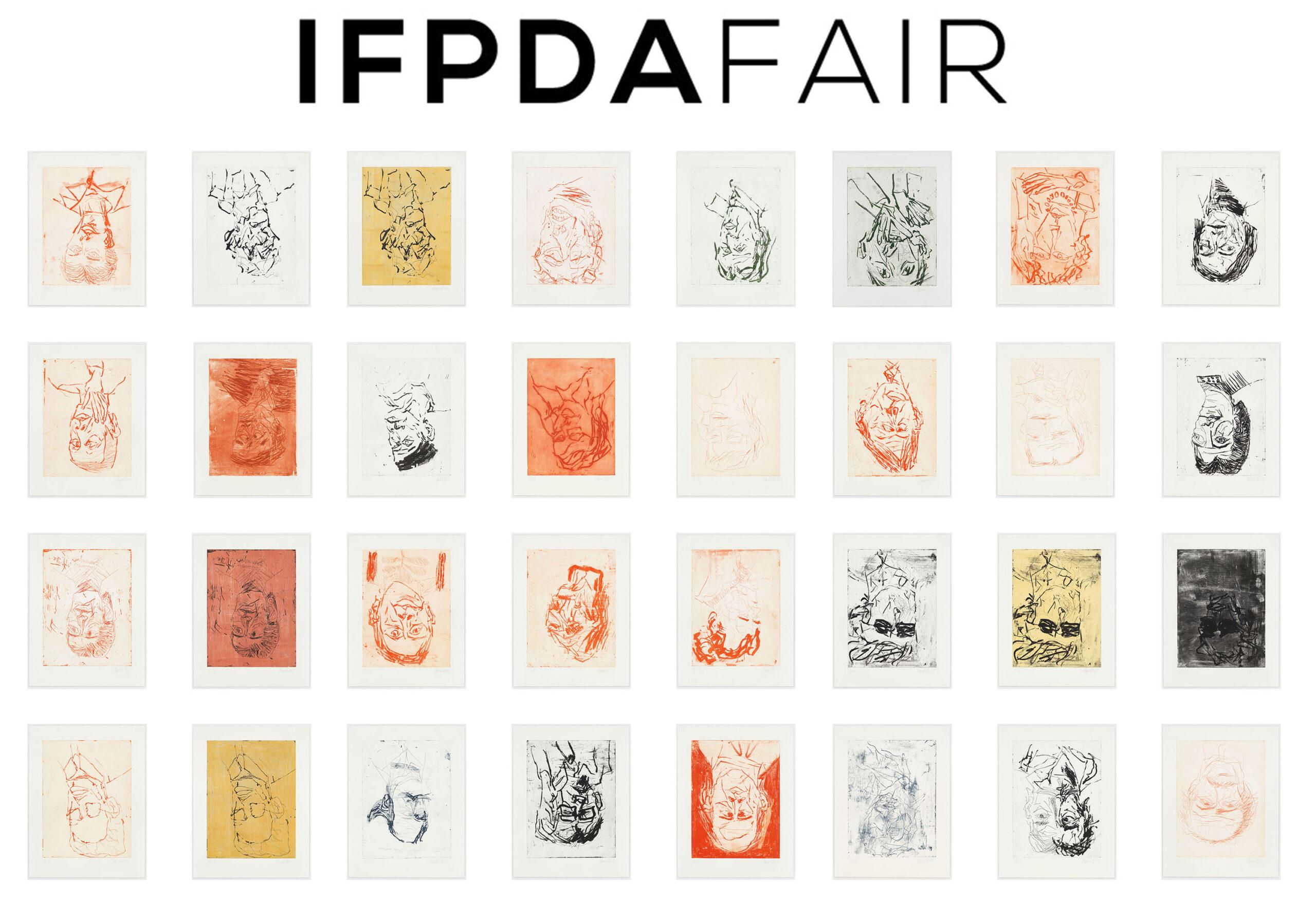 IFPDA Art Fair 2021 - Devotion by Georg Baselitz