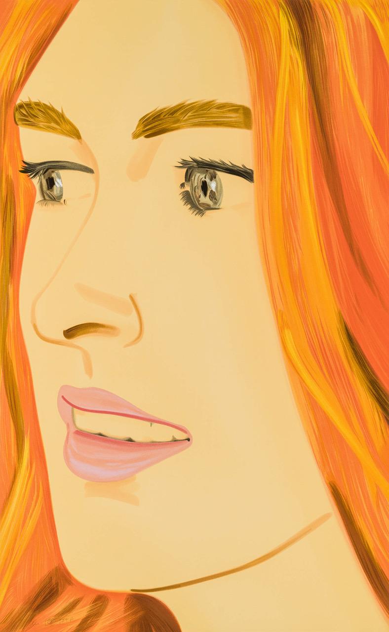 Portrait of Alex Katz's friend Ariel