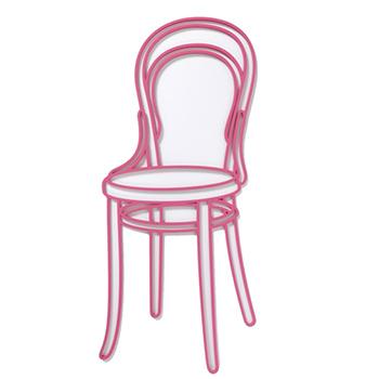 Michael Craig-Martin Blue Chair Thumbnail